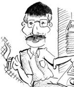 Caricatura Alfonso Luna