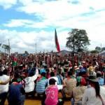 Indígenas exigen presencia del presidente Santos y su gabinete ministerial