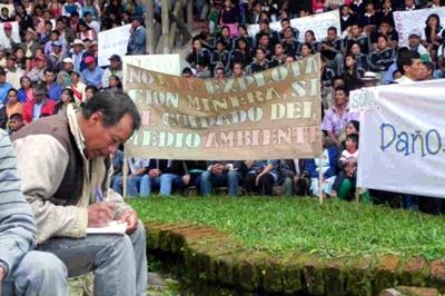 El macizo colombiano se moviliza