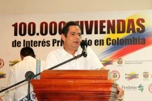 Ministro de Vivienda Germán Vargas LLeras