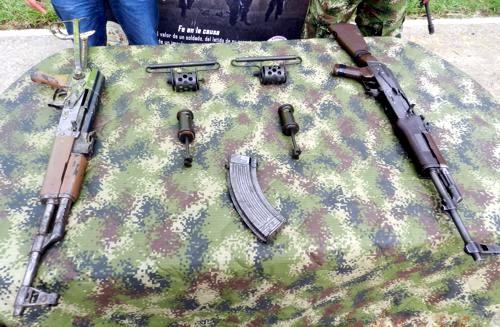 Ofensiva contra FARC Cauca