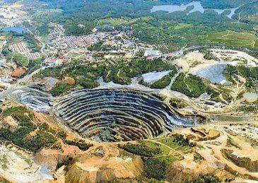 mina de oro