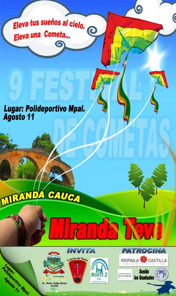 AFICHE DE MIRANDA - festival de cometas