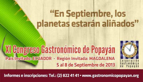 Congreso gatronomico web