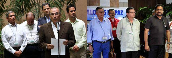 delegaciones gobierno farc