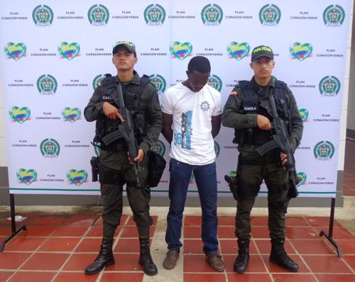 Captura por secuestro extorsivo - Policía