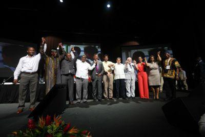 Clausura Cumbre afro