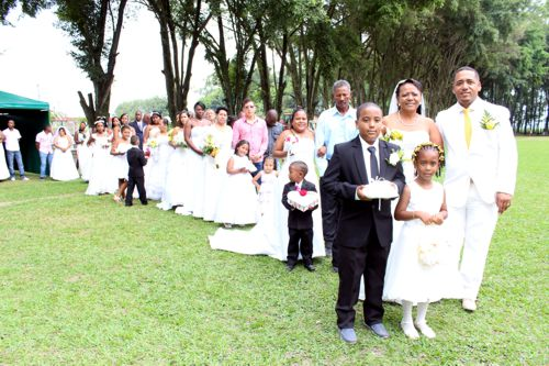 Matrimonio colectivo 1
