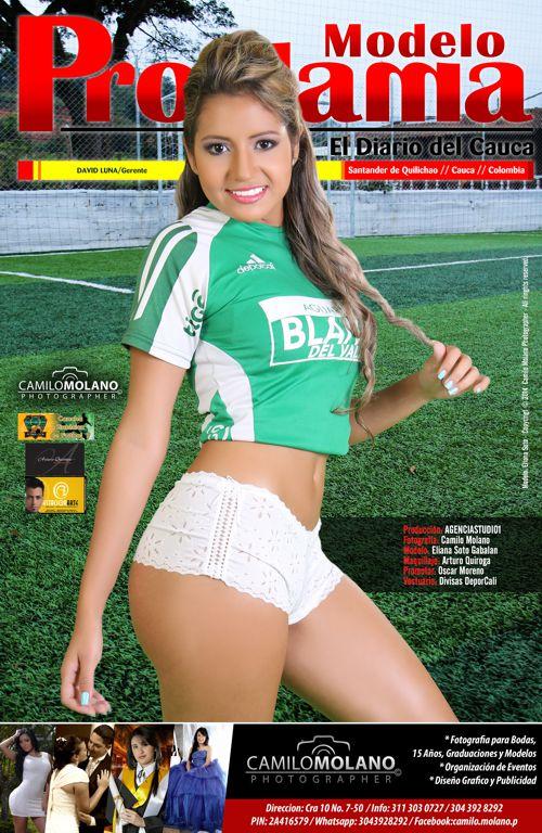Eliana Soto - Modelo Proclama del Cauca