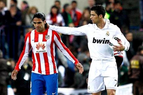 Falcao - Cristiano Ronaldo