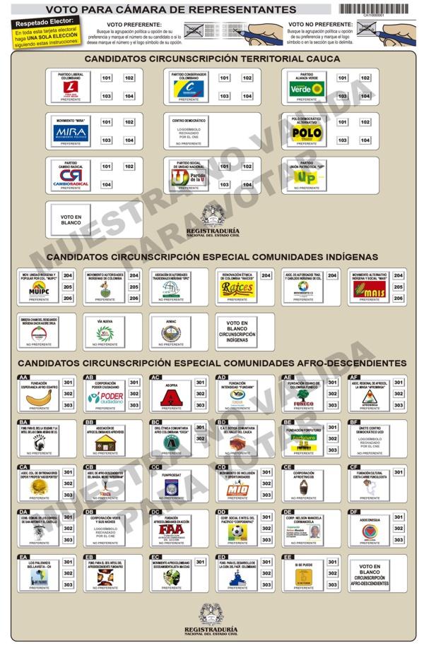 Tarjeta electoral camara 2014 web