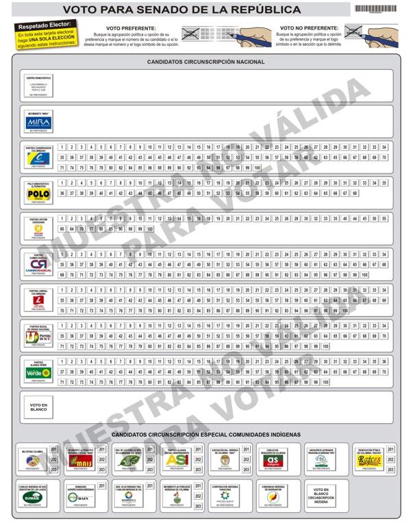 Tarjeta electoral senado 2014 web