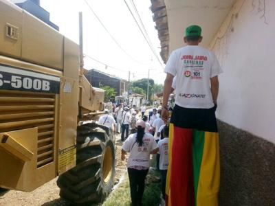 Pavimentación Quilichao 3