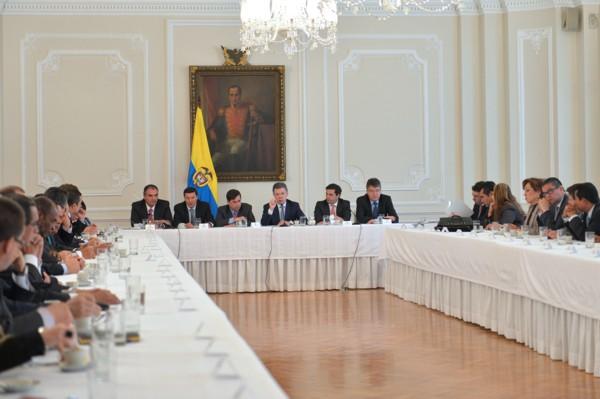 Presidente Santos-bancada liberal