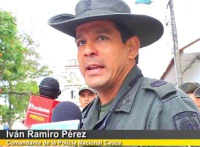 Coronel Iván Ramiro Pérez Manzano