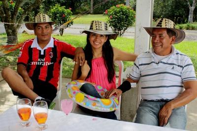 Fiesta llanera en pasada celebración día del padre - Archivo 2013