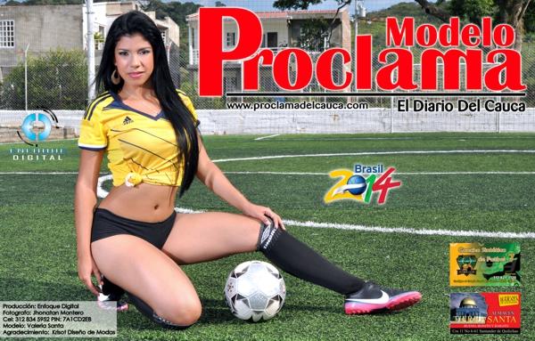 Modelo Proclama del Cauca - mes de Junio 2014 - Edición Mundial 3