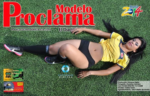 Modelo Proclama del Cauca - mes de Junio 2014 - Edición Mundial 4