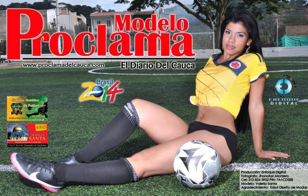 Modelo Proclama del Cauca - mes de Junio 2014 - Edición Mundial 5