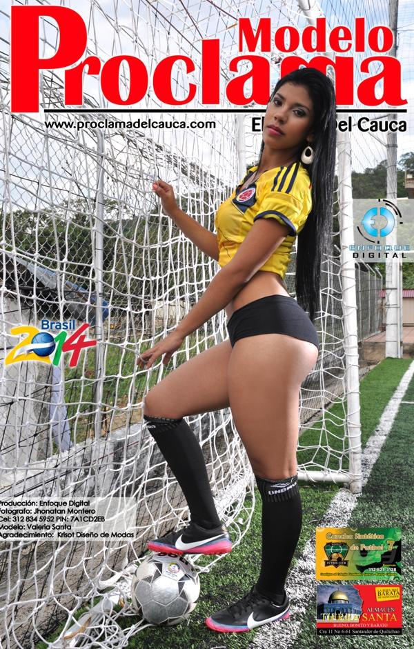 Modelo Proclama del Cauca - mes de Junio 2014 - Edición Mundial 6
