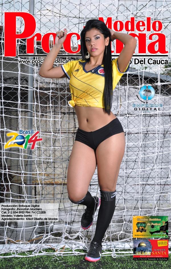 Modelo Proclama del Cauca - mes de Junio 2014 - Edición Mundial 7
