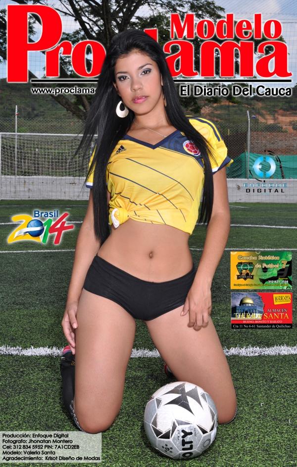 Modelo Proclama del Cauca - mes de Junio 2014 - Edición Mundial 9