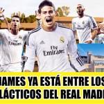 James, nuevo jugador del Madrid