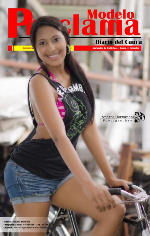 Melisa Martínez - Modelo Proclama del Cauca - Julio 11 de 2014