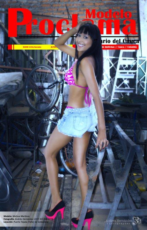 Melisa Martínez - Modelo Proclama del Cauca - Julio de 2014