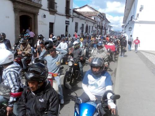 Mototaxismo en Popayán