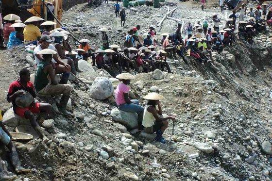 Timbiqui - mineros