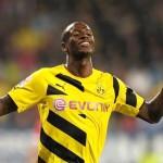 Adrián Ramos marcó un golazo con el Borussia Dortmund en Alemania