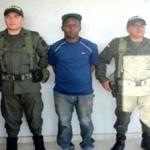 Capturado en flagrancia por extorsión alias 'Negro', en Puerto Tejada