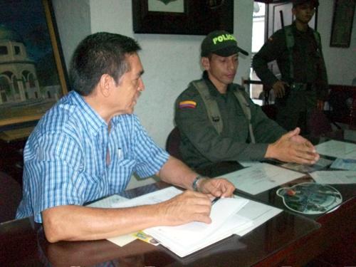 Consejo de seguridad en Caloto