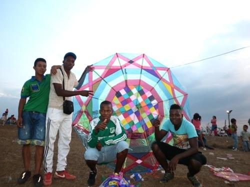 Cuarto festival de cometas en santander de Quilichao