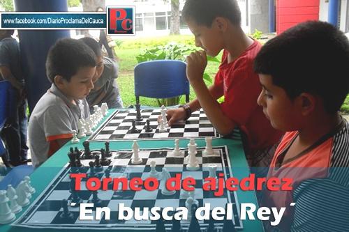 Torneo de ajedrez en Popayan