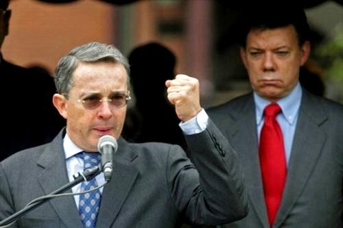 Alvaro Uribe - Santos