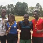 Atletas caucanos lograron 2 de oro y 2 de plata, en el Campeonato Nacional Menores