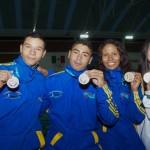 Caucanos campeones panamericanos en natación con aletas