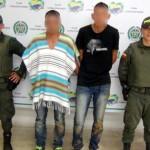 Capturados dos presuntos ladrones en Santander de Quilichao