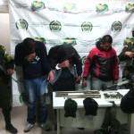 Departamento de Policía Cauca capturó a presuntos miembros de las redes de apoyo al terrorismo del ELN