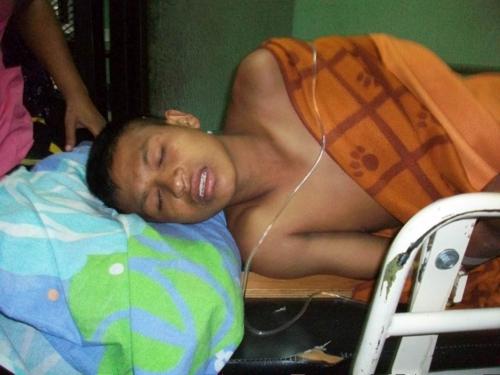 Herido en Tacueyó