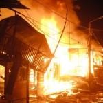 Incendio causó pánico en Popayán