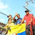 Caucanos le dieron la bienvenida a Laura Marcela Cosme