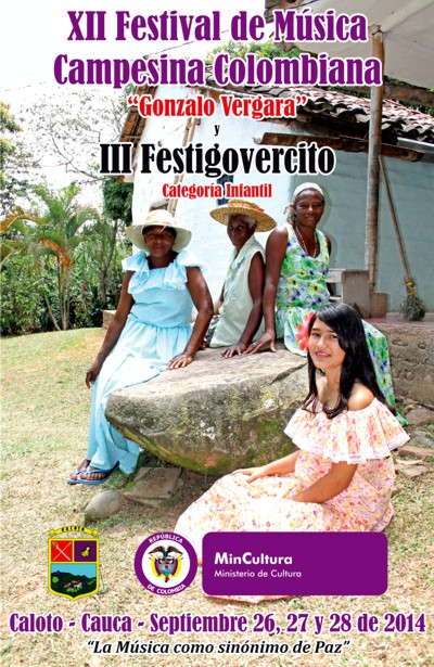 XII Festival de Música Campesina Colombiana en Caloto