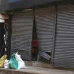 Así amaneció el almacén 'Solo Moda' luego del atentado