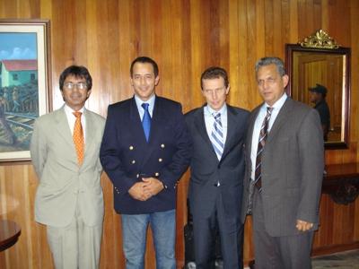 Butragueño en Colombia