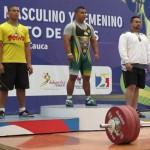 Rolando Maradey, campeón nacional de levantamiento de pesas