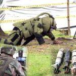 Desactivados explosivos en parque infantil de Inzá