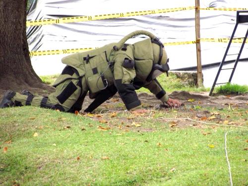 Desactivado campo minado en parque infantil de Inzá